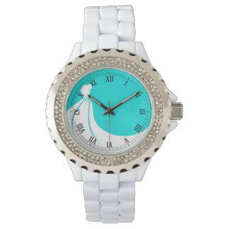 花嫁、メイド・オブ・オーナー(花嫁付き添い人)、または新婦付添人 腕時計