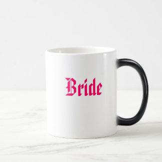 花嫁、花嫁 モーフィングマグカップ