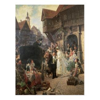 花嫁、19世紀 ポストカード