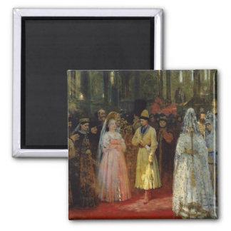 花嫁、c.1886を選んでいる皇帝 マグネット
