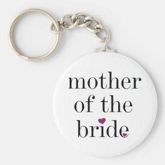 花嫁Keychainの黒い文字の母 キーホルダー