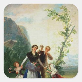 花屋か春1786年 スクエアシール