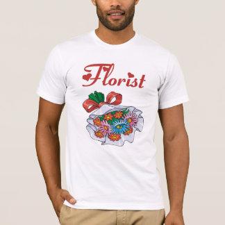 花屋の花束のTシャツ Tシャツ