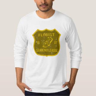 花屋の飲むリーグ Tシャツ