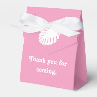 花弁のピンクの好意箱の熱帯ハイビスカス フェイバーボックス