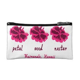 花弁、種および果汁の真珠湾の海軍基盤、HI コスメティックバッグ