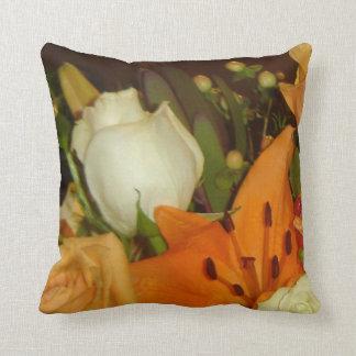 花束のアメリカ人のMoJoの混合された枕 クッション