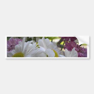 花束の花びら バンパーステッカー