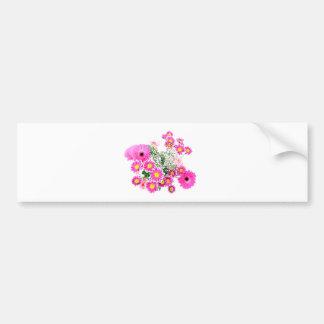 花束を開花します バンパーステッカー