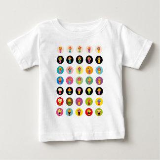 花束 ベビーTシャツ