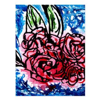 花束 ポストカード
