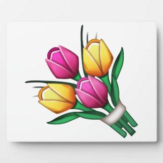 花束- Emoji フォトプラーク