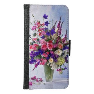 花束 GALAXY S6 ウォレットケース
