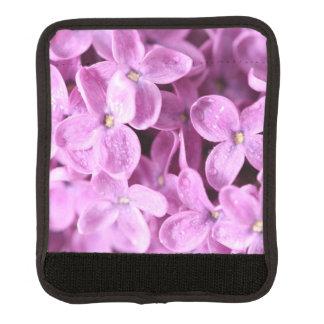 花柄のピンク ラゲッジ ハンドルラップ