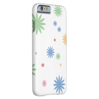 花柄の破烈のiPhone 6/6sのやっとそこに場合 Barely There iPhone 6 ケース