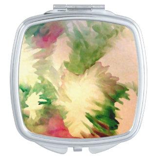 花柄の花の化粧品の鏡の母の日のギフト
