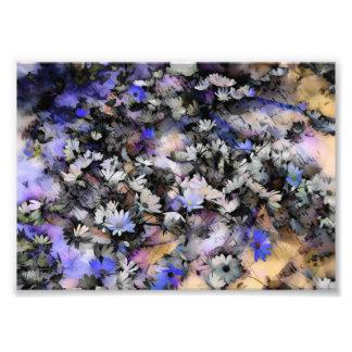花柄 フォトプリント