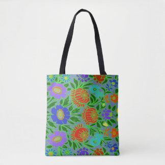 花柄#2 トートバッグ