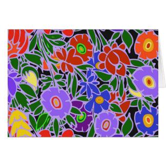 花柄#5 カード