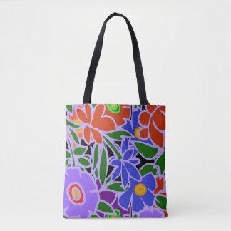 花柄#5 トートバッグ