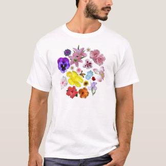 花柄 Tシャツ
