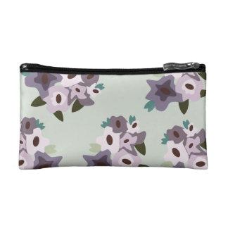 花模様が付いているComesticのバッグ コスメティックバッグ