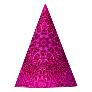 花模様のカスタムなパーティーの帽子 パーティーハット