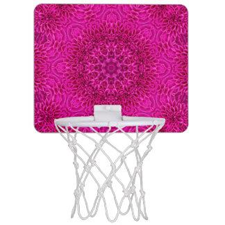 花模様の小型バスケットボールのゴール ミニバスケットボールゴール