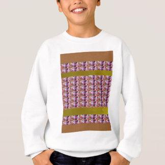 花模様の紫色エレガントなギフトのすべての行事 スウェットシャツ