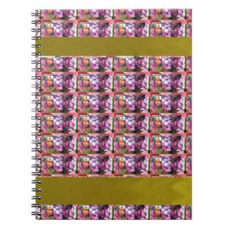 花模様の紫色エレガントなギフトのすべての行事 ノートブック