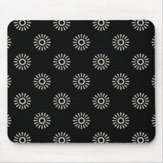 花模様6アルミニウム マウスパッド