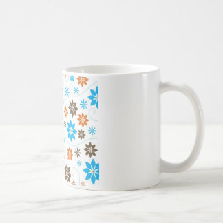 花模様 コーヒーマグカップ