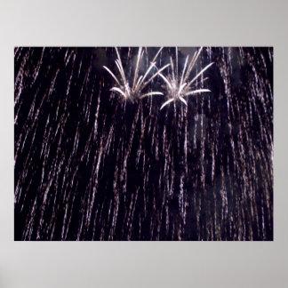 花火のシャワー ポスター