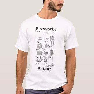 花火のパテント Tシャツ