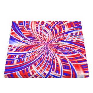 花火の抽象美術の質の中 キャンバスプリント