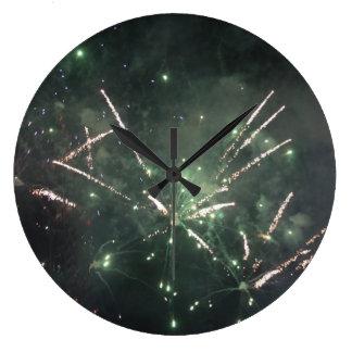 花火の時計 ラージ壁時計
