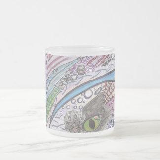 花火の曇らされたガラスのマグI フロストグラスマグカップ