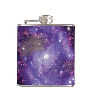 花火の銀河系の宇宙の写真 フラスク