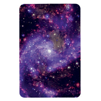 花火の銀河系の宇宙の写真 マグネット