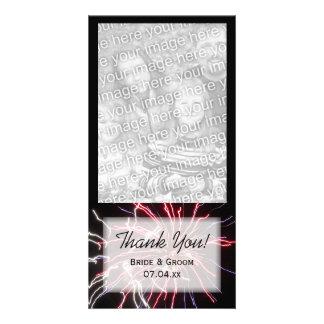 花火は写真カード感謝していしています カード