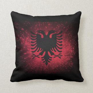 花火; アルバニアの旗 クッション