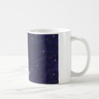 花火、ホタルおよび星のマグ コーヒーマグカップ