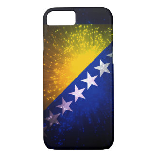 花火; ボスニアの旗 iPhone 7ケース
