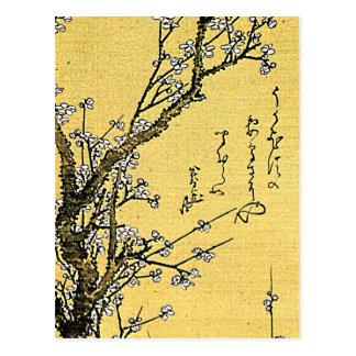 花盛りのプラム ポストカード