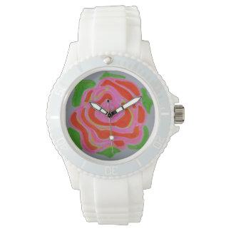 花盛りの腕時計 腕時計