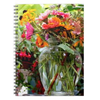 花花束のノート ノートブック