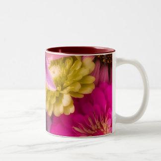 花花束のマグ ツートーンマグカップ
