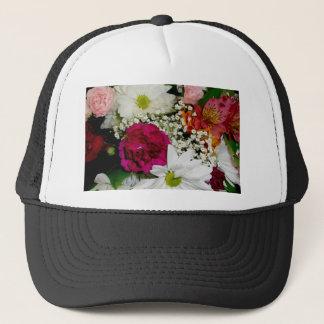 花花束の帽子 キャップ