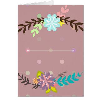 花花束 カード