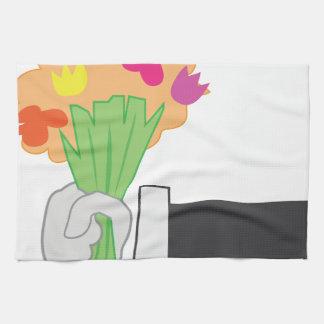 花花束 キッチンタオル